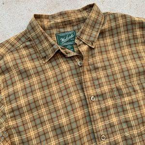 Vintage WOOLRICH L/S Plaid Casual Shirt L